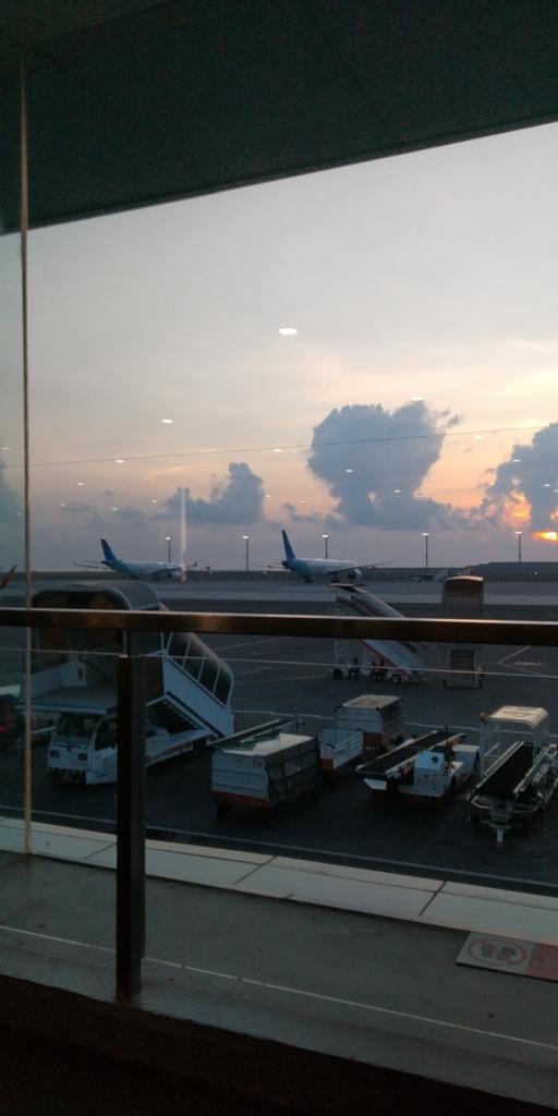 Ngurah Rai Airport Dikala Senja