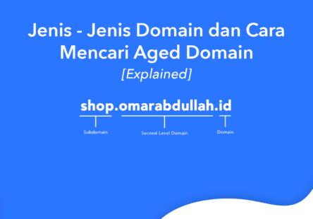 jenis jenis domain
